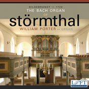 CD Cover of The Bach Organ of Stormthal